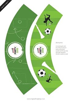 World Cup Soccer Party {with FREE downloads!}