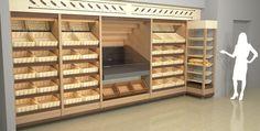 Вариант оформления хлебного отдела