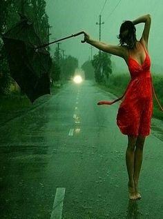 Dancing in the rain ~