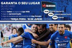 #Bluecards - Venha viver a Europa no Estádio do Restelo a partir de 60€