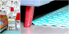 bed leg - bed -diy -upcycle