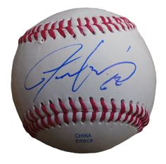 Chicago Cubs Justin Grimm signed Rawlings ROLB leather baseball w/ proof photo.  Proof photo of Justin signing will be included with your purchase along with a COA issued from Southwestconnection-Memorabilia, guaranteeing the item to pass authentication services from PSA/DNA or JSA. Free USPS shipping. www.AutographedwithProof.com is your one stop for autographed collectibles from Chicago sports teams. Check back with us often, as we are always obtaining new items.