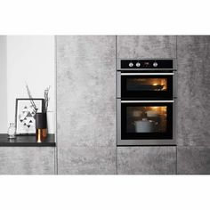 Hotpoint DD4544JIX Electric Built-in Double Oven - Stainless Steel | Appliances Direct Built In Double Ovens, Large Family Meals, Window Glazing, Stainless Steel Oven, City Of Bristol, Electric Oven, Energy Consumption, Door Hinges