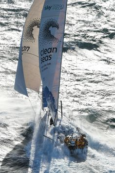 Fantastic photos from the start of Leg 2 Lisbon to Cape Town!