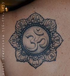 Superb Om Tattoo Design