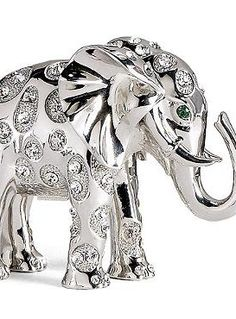 Whimsical In Character And Stunning In Design, The Bubbles The Elephant  Figurine Will Quickly Become