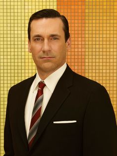 Jon Hamm as Don Draper in an AMC Network MAD MEN Season 7 portrait, photographed by Frank Ockenfels
