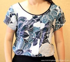 Sorbetto top with sleeves