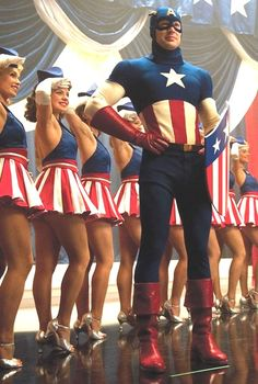 Captain America: The First Avenger, fangirl swoon! Ahhhhh, so beautiful!