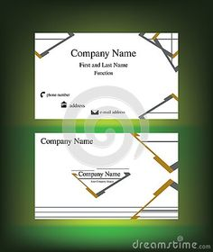 business-card-abstract-geometrical-shapes-dark-green-background-useful-companies-financial-corporate-field