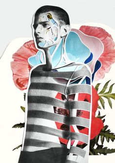 "Modeconnect.com - ""Inflorescence"" by freelance fashion designer and illustrator Meric Canatan and photographer Olgaç Bozalp"