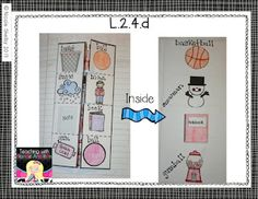 Foldable for Compound Words 2nd Grade Ela, 2nd Grade Reading, Second Grade, Reading Notebooks, Math Notebooks, Interactive Journals, Interactive Learning, School Fun, School Days