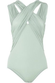 this is a swimsuit, but I'd wear it with high waisted shorts :3