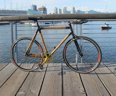 Building a Carbon Fibre Bamboo Bicycle From Scratch : 7 Steps (with Pictures) - Instructables Bamboo Bicycle, New Bicycle, Car Bike Rack, Bicycle Rack, Wood Bike, Wooden Bicycle, Bike Shelf, Bamboo Lamp, Electrical Tape