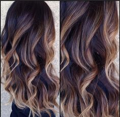 Love the balayage highlights