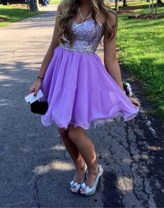 Sweetheart dress,Homecoming Dresses,Beading Homecoming Gowns,Short Prom Gown