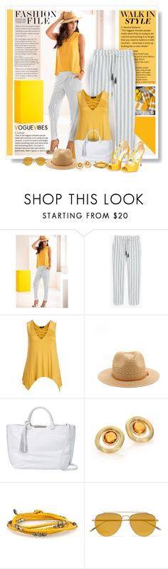 """""""Walk In Style"""" by diva1023 ❤ liked on Polyvore featuring Venus, Ami Sanzuri, Botkier, Marco Bicego, Tomas Maier and plus size clothing"""