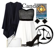 """Candor"" by xfandomsneverdie ❤ liked on Polyvore featuring Joseph, Nly Shoes, Yvel and Michael Kors"