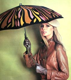 Magdorable! Knirps Umbrella advertisement, Petra (Germany) September 1966