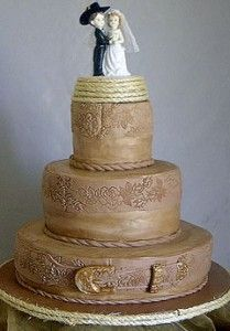 Wedding Western Elegant Cake | Western Wedding Cake Designs and Toppers - Pictures, Videos