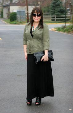 summer maxi dress work for cooler months