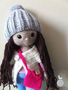 Lady with crochet: Lalka Ania / Crochet doll