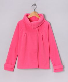 Take a look at this Hot Pink Polar Fleece Jacket by Dreamstar & Freestyle Revolution on #zulily today!