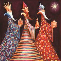 we three kings / bellos para hacerlos en decoupage