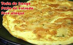Torta de frango na frigideira - Receitas dukan #receitas #receitasdukan #faseataque #dukan