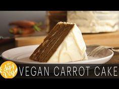 Carrot Cake with Vegan Cream Cheese Frosting   Vegan Recipe   The Edgy Veg
