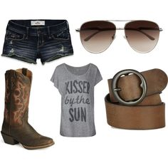 MY kind of style designed by me!   --cookoff attire!-- only thing missing is a Coors Light!