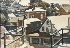 Edward Hopper, Gloucester Roofs on ArtStack #edward-hopper #art