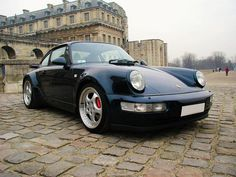 Porsche 911 Turbo (964) by Auto Clasico, via Flickr