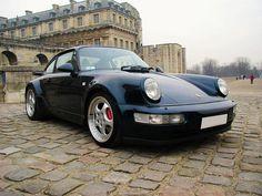Porsche 911 Turbo (964) by Auto Clasico, via Flickr