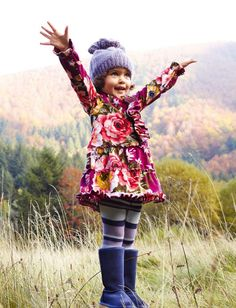 Vintage floral curtains | trend winter 2013 2014 | kidsfashion