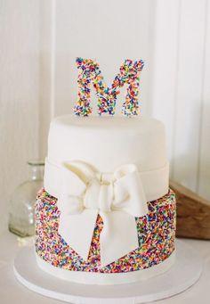 Wedding cake idea; Featured Photographer: Abby Fox Photography