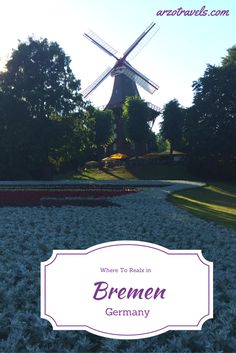 What to do and see in beautiful Bremen, Germany.