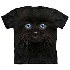 Black Kitten T-Shirt Adult XXL now featured on Fab.
