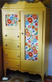 upcycled wardrobe, great idea!