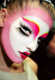 Make-up by Pat McGrath for Dior Haute Couture by John Galliano.