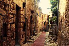 Street inn Eze
