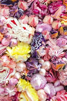 """""""Under Heaven"""" // Oil paint with icing or pastry nozzles 