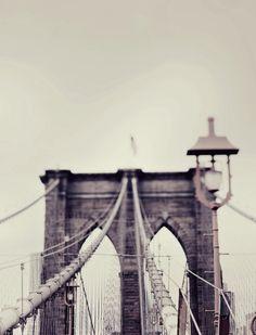 Architecture - Brooklyn Bridge Photography - Bridge, America, Travel, Adventure - Freedom 8x10. $30.00, via Etsy.