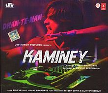 Kaminey - caper thriller about  identical twins who grew up on the streets of Mumbai. Both brothers have a speech impediments. One is a bookie at horse-racing and lisps, the other works for an NGO and stammers.