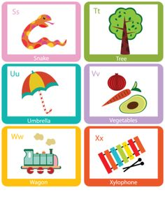 48 Best Flash cards images | Day Care, Preschools, Flashcard