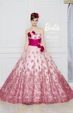 Barbie Bridal, Barbie Wedding Dress, Barbie Gowns, Barbie Dress, Wedding Dress Patterns, Colored Wedding Dresses, Beautiful Gowns, Beautiful Outfits, Quinceanera Dresses