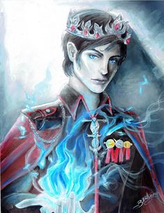 King Maven Calore (Red Queen series) by bethanyXD.deviantart.com on @DeviantArt