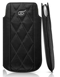 Itskins Enzo Chronos Leather Pouch Case for Samsung Galaxy S3 - Black £26.95