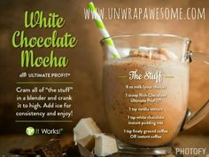 White Chocolate Mocha Protien Shake