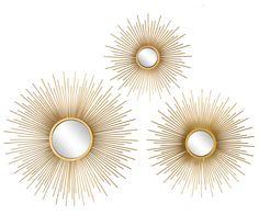 Zonnespiegel of sierspiegel kopen? Blue Rooms, Luster, Vienna, Sweet Home, Shabby, Mirror, Metal, Furniture, Products